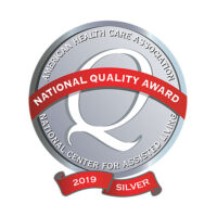 2019 Silver National Quality Award by the American Health Care Association